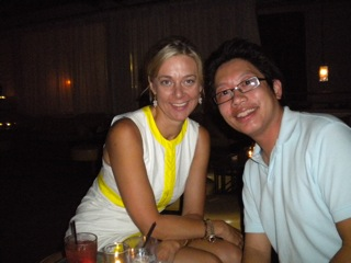Beate Chelette and Eric Chuang